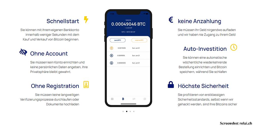 Relai Bitcoin VNF Invest anonym kryptowährungen