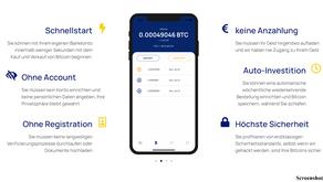 Bitcoin kaufen ohne dich zu Registrieren- geht das?