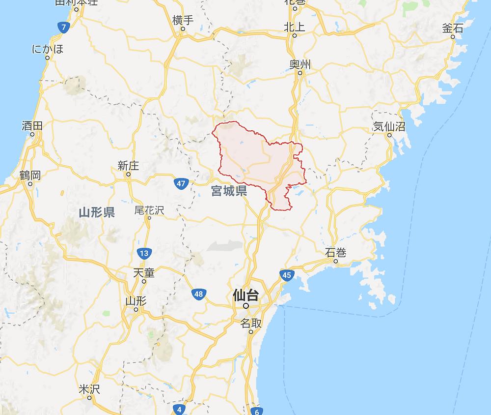 宮城県栗原市 画像