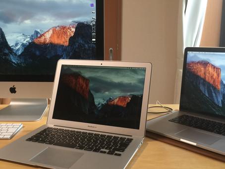 MacBook Air 到着→初回タッチレビュー!