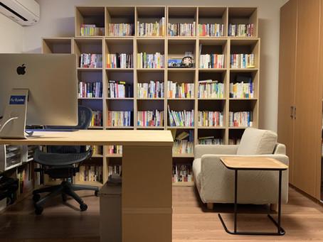【デスク環境】IKEAの本棚 ビリーでスッキリ!