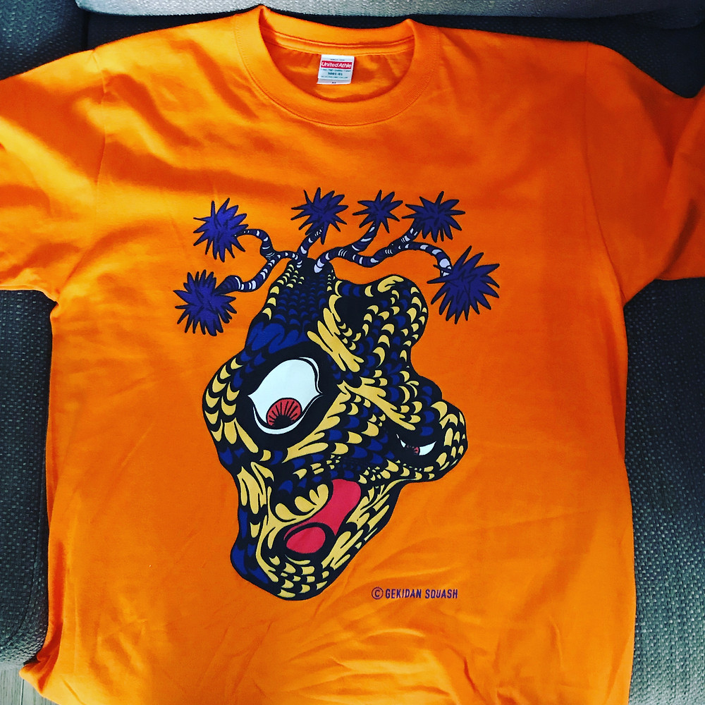 舞台joke Tシャツ オレンジ