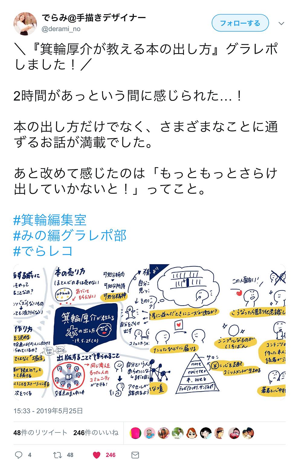 でらみ@手書きデザイナー