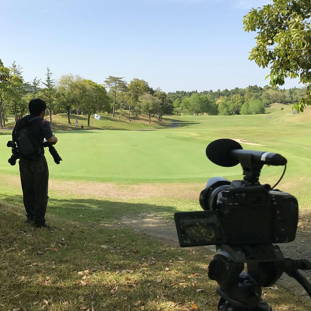 動画制作 ゴルフコンペ