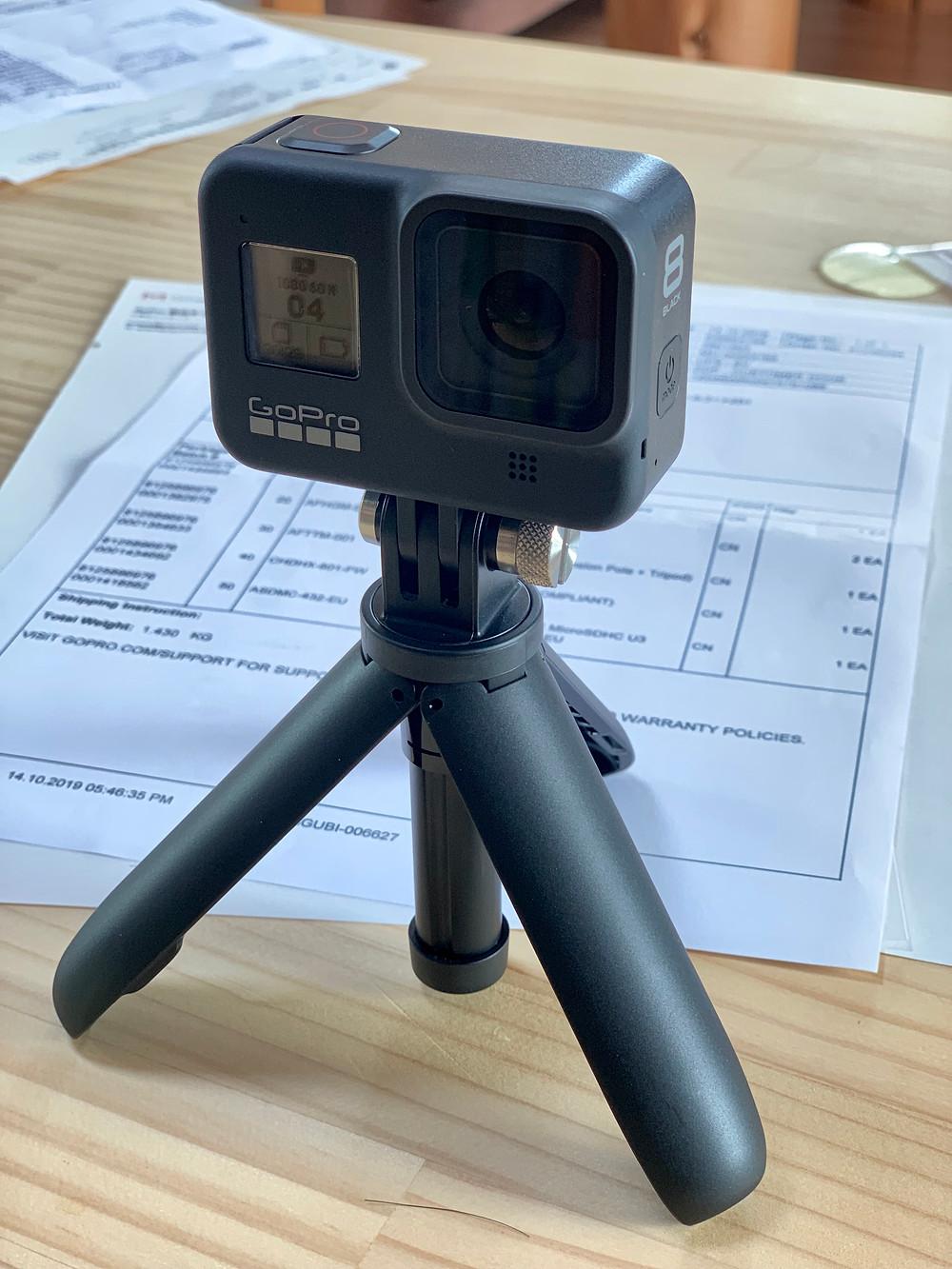 GoPro8 純正スタンド ショーティー