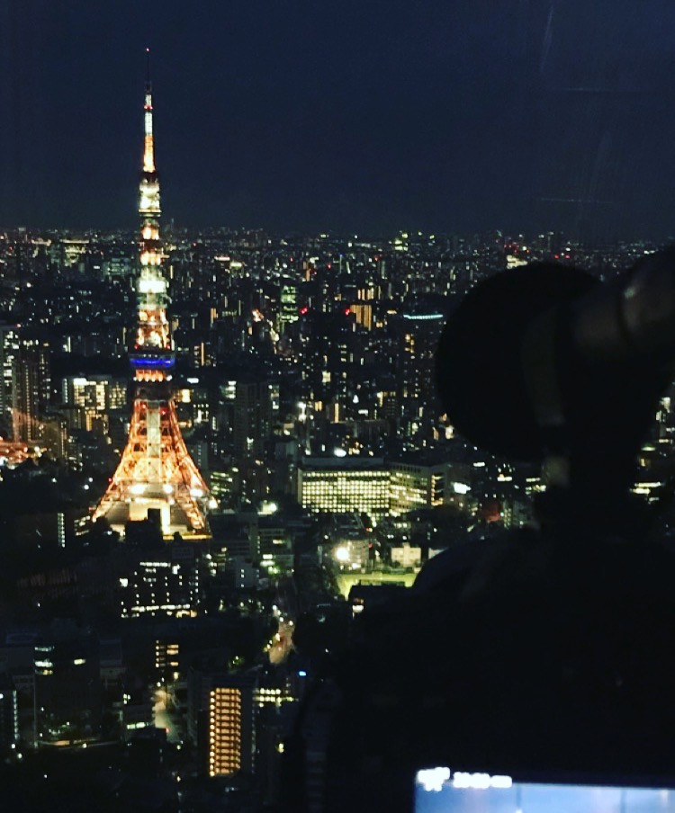 虎ノ門ヒルズ 夜景