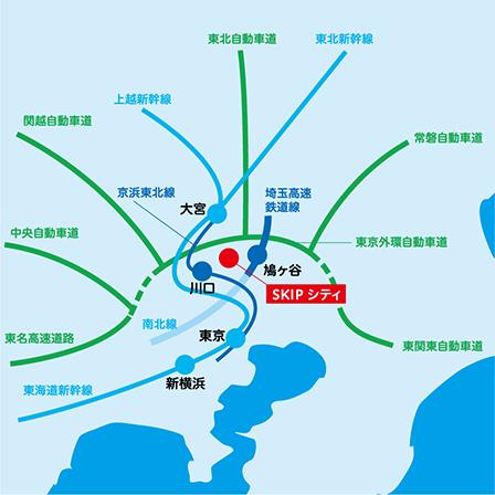 埼玉 SKIPシティ 場所