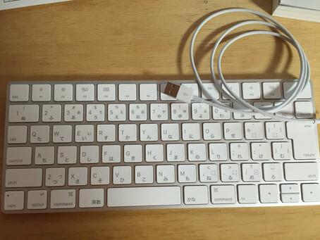 Apple マジックキーボード 導入💨