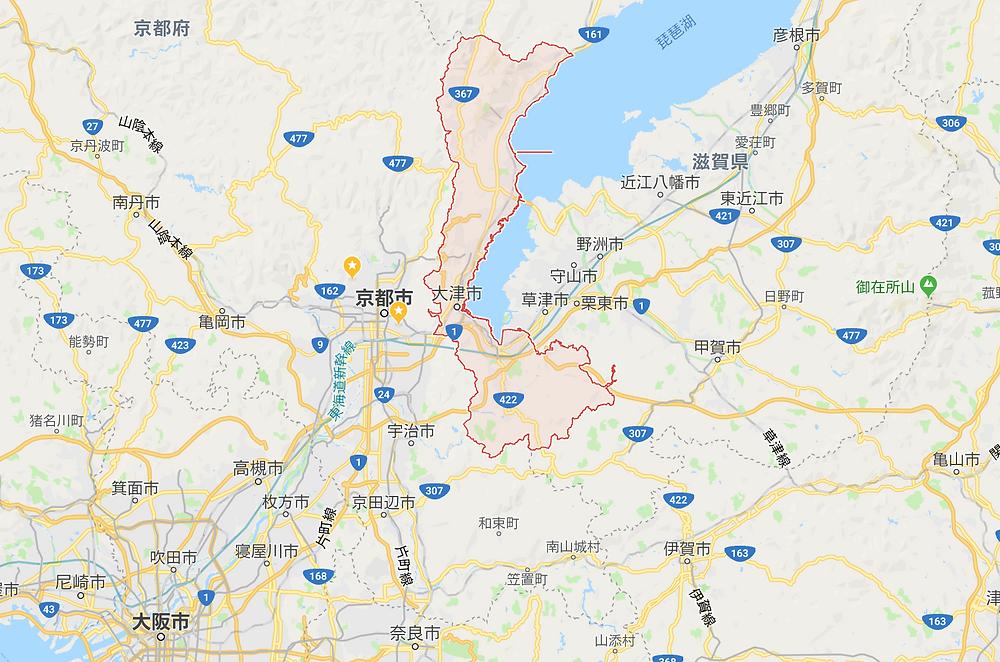 大津市 地図