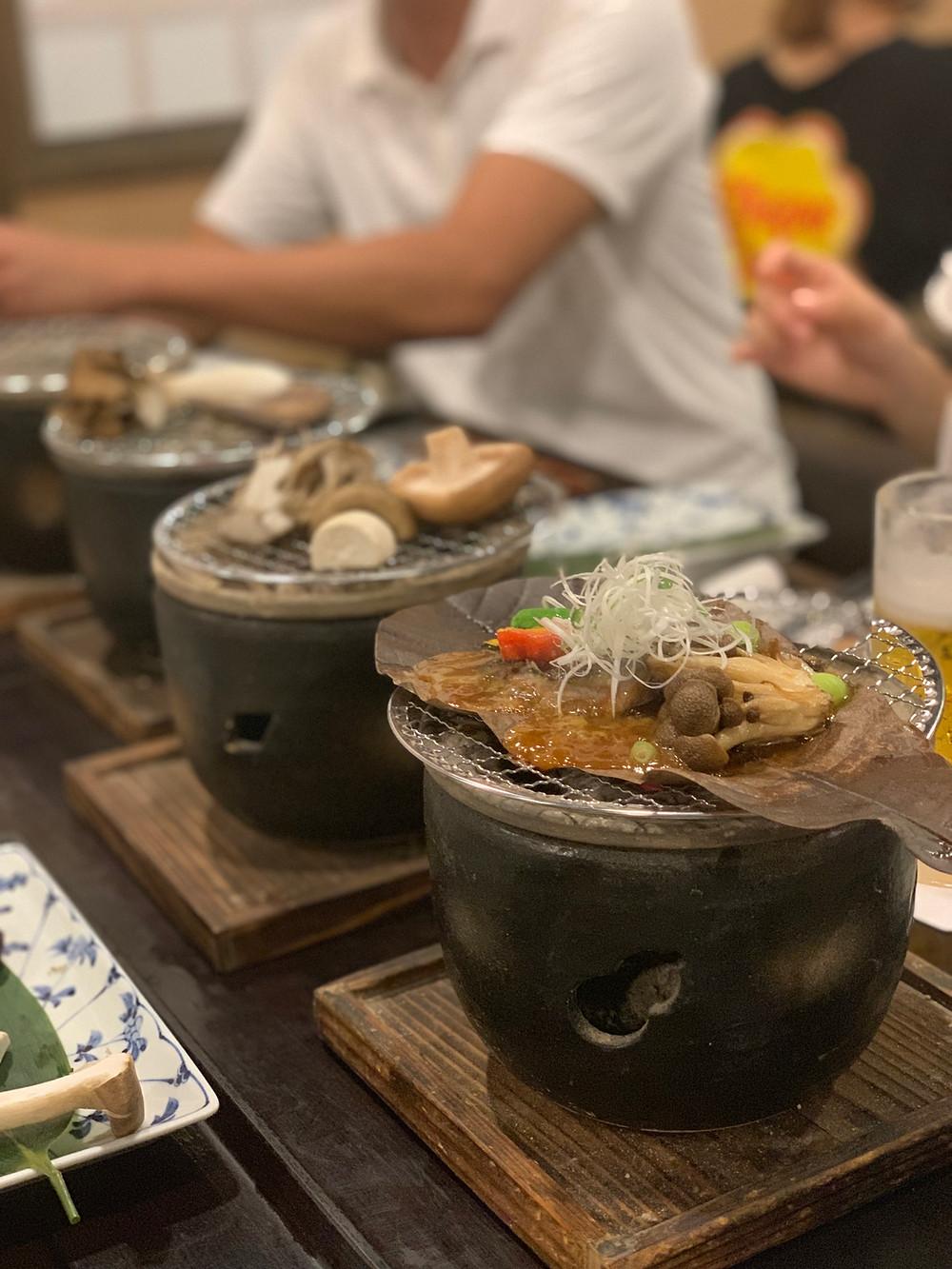 箱根湯寮 七輪料理