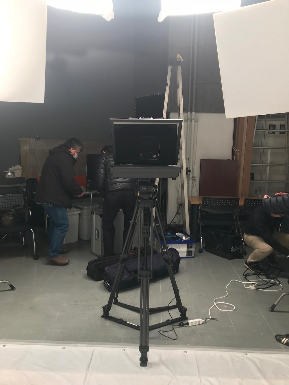 動画制作 プロンプター