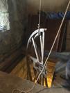 Wheel going through hatch