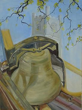 Calstock bell by Judith Bassett