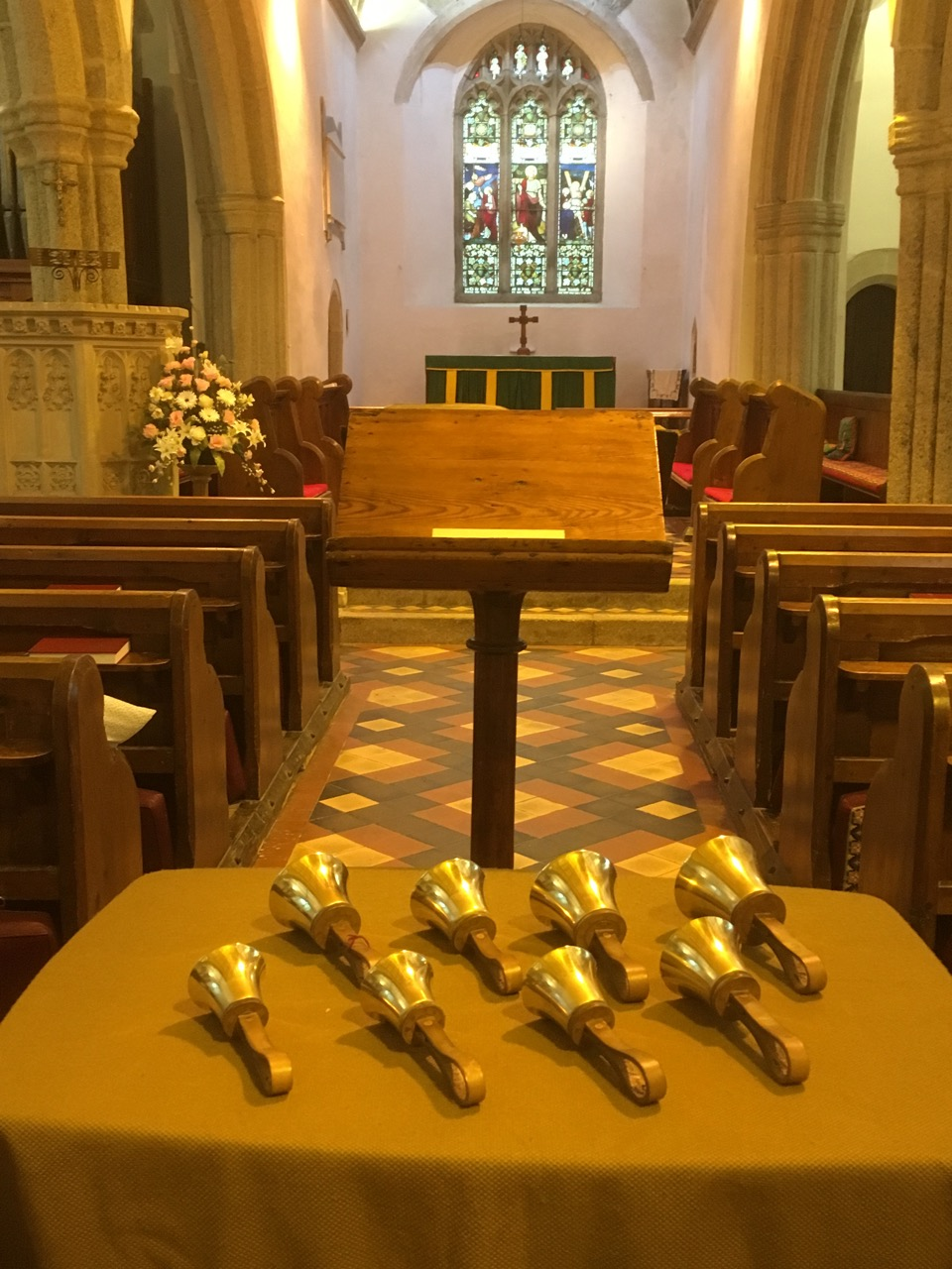 Handbells at the Open Day