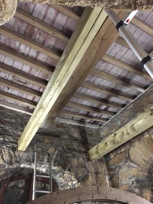 Both beams finished
