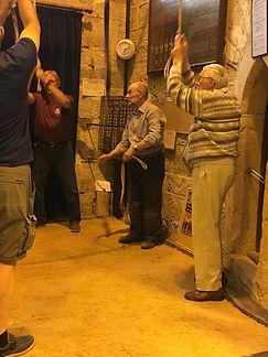Testing the bells