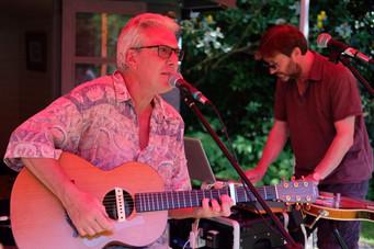 Paul & Rupert at Eckington Garden Festival