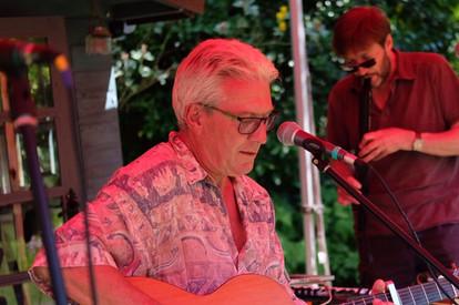 Paul at The Eckington Garden Festival 2017
