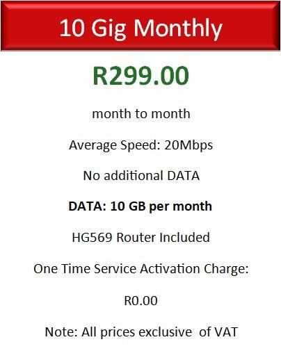 Vodacom 10GB