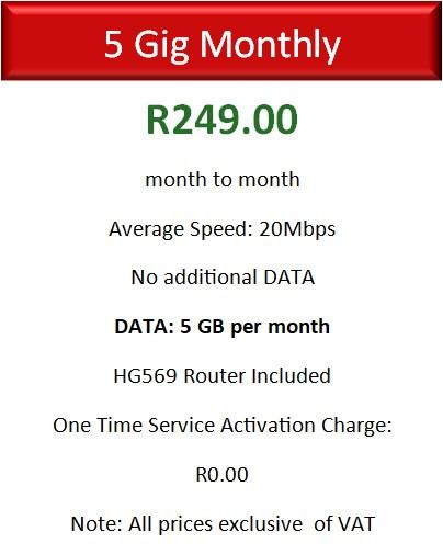 Vodacom 5GB