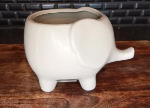 """4"""" Elephant Pot"""