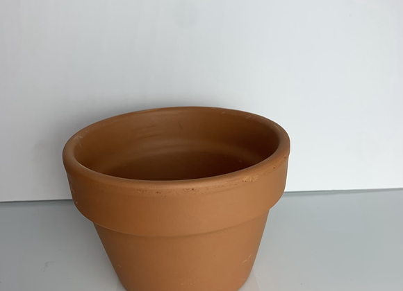 """4"""" Azalea Terra Cotta Pot"""