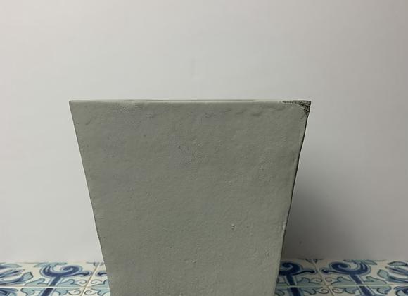"5"" Concrete Pot with Saucer"