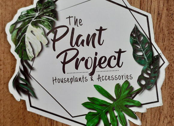 The Plant Project logo magnet