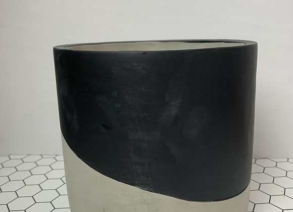 """6.5"""" Cement with Black"""
