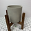 """Thumbnail: 5.5"""" Brown Plant Stand (reversible)"""