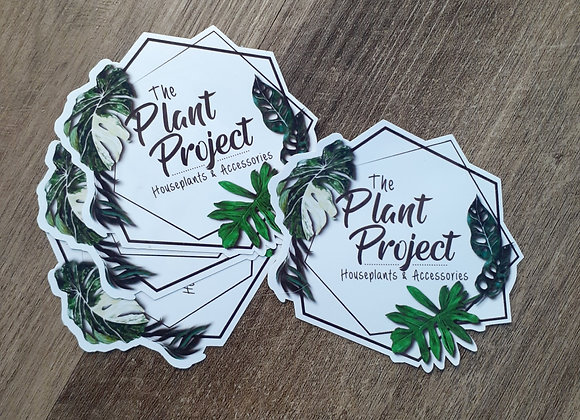The Plant Project logo sticker