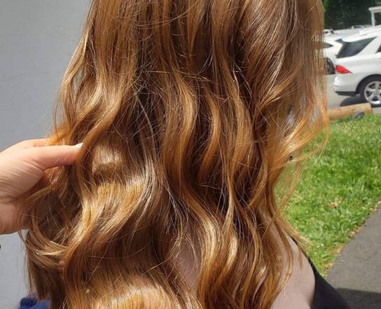 Redhead wavy hair in Philadelphia