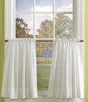 Classic Curtains 24 Inches Long (Un-Lined Pair)