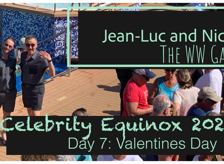 Celebrity Equinox 2020: Day 7 Valentines Day