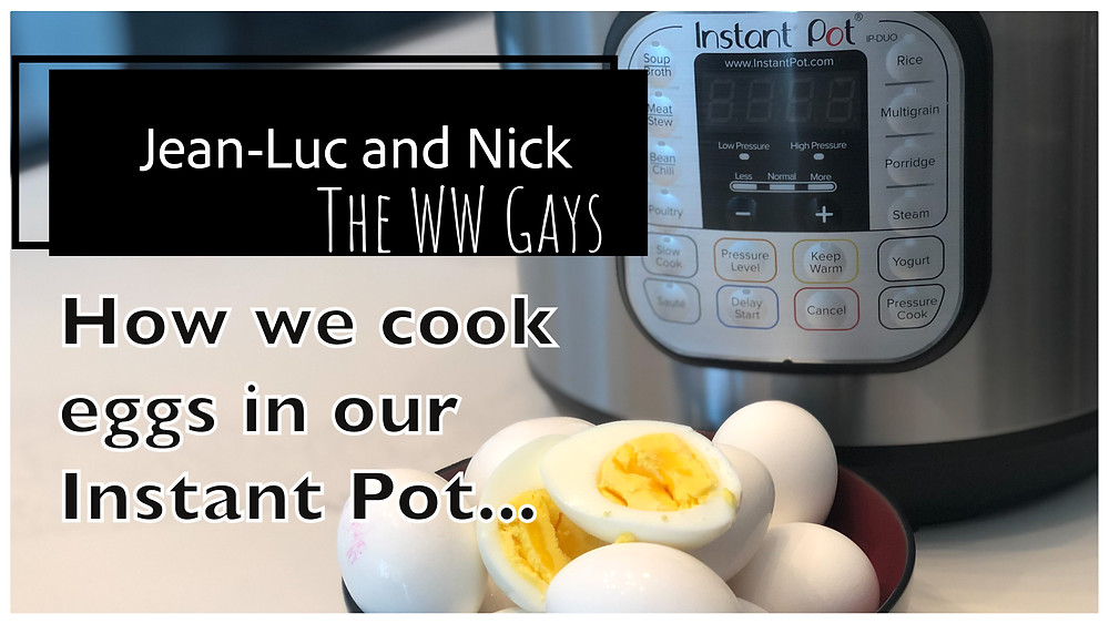 How we cook eggs in our Instant Pot