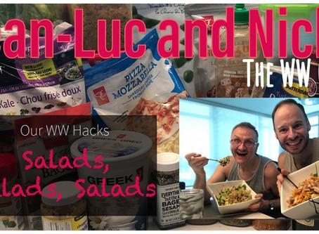 Our WW Hacks: Salads Salads Salads!