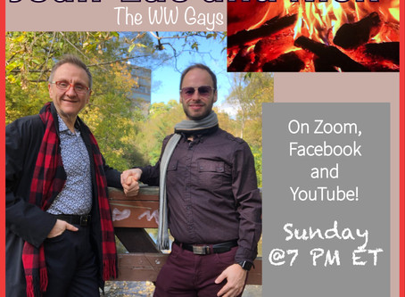 This Sunday: Fireside Chat October 25th