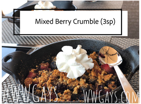 Mixed Berry Crumble (3 Points)