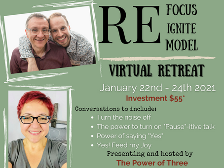 Refocus+Reignite+Remodel Virtual Retreat