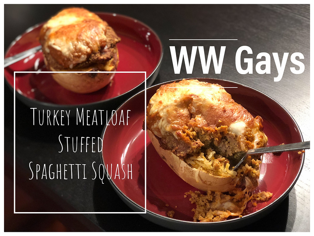 Spaghetti Squash Turkey Meatloaf