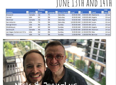 Virtual Workshop Visits June 13th and 14th