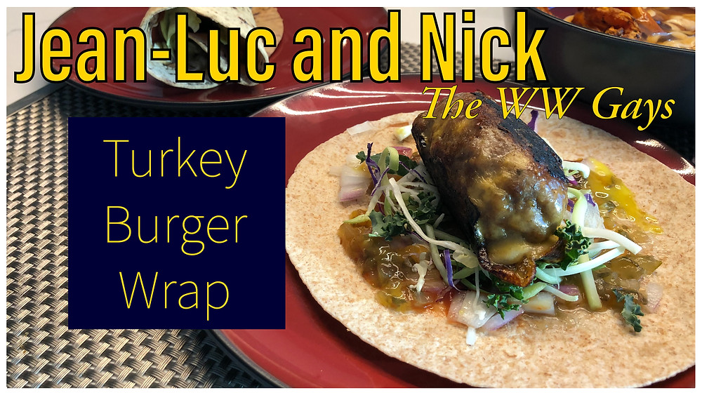 Turkey Burger Wrap