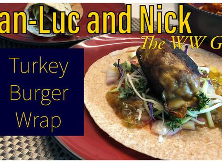 Turkey Burger Wraps