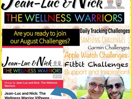 Wellness Warriors August Challenges!