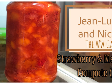 Strawberry and Mango Compote