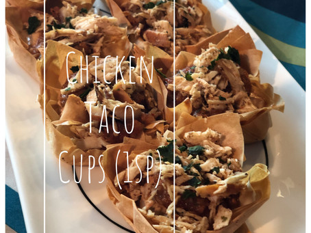 Chicken Taco Cups (1 Point)