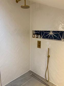Herringbone tiling.