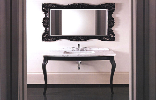 Imperial-marble top basin unit