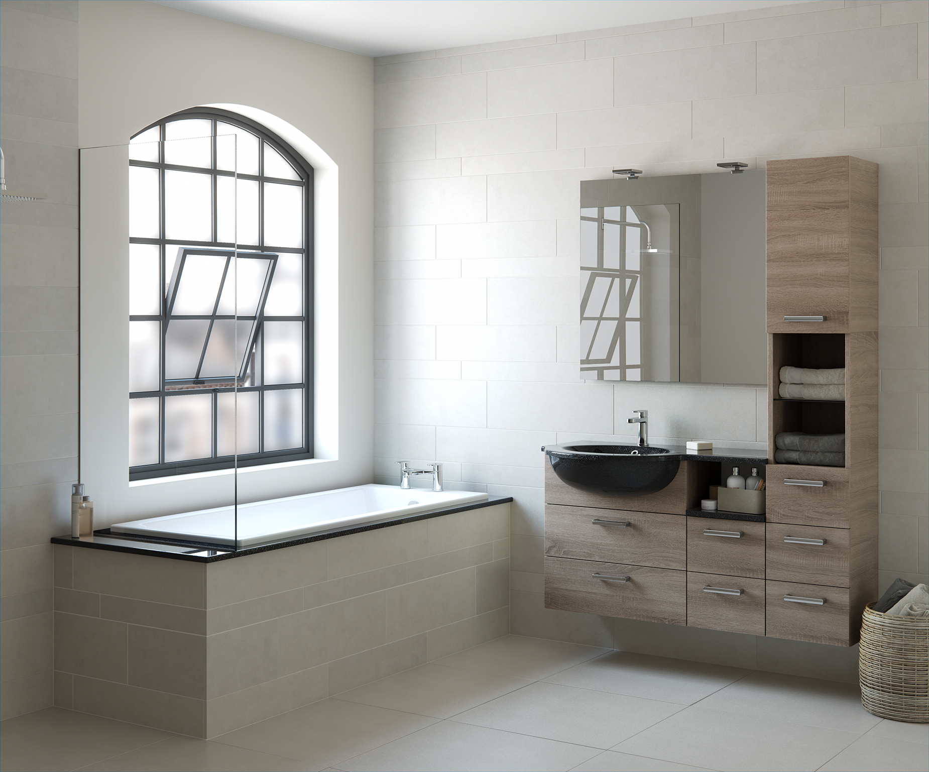 Mereway- bathroom furniture run