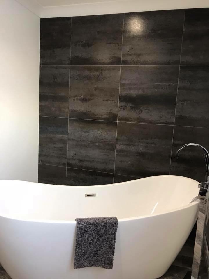 free standing bath derby showroom